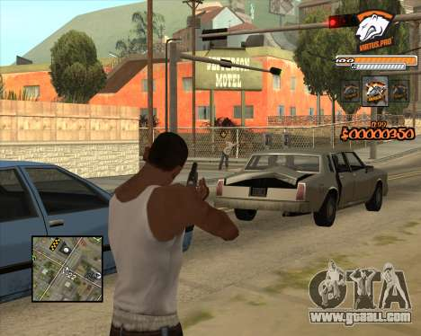 C-HUD Virtus Pro for GTA San Andreas