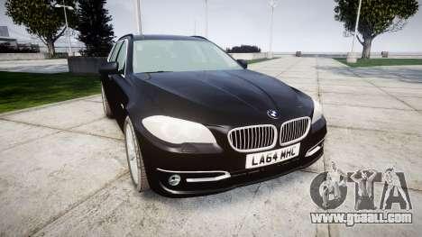 BMW 525d F11 2014 Facelift Civilian for GTA 4