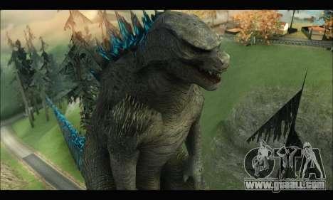 Godzilla 2014 for GTA San Andreas fifth screenshot