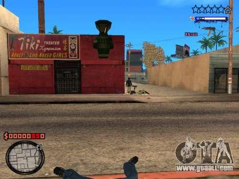 C-HUD Style for GTA San Andreas forth screenshot