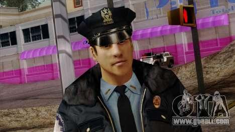 Police Skin 6 for GTA San Andreas third screenshot