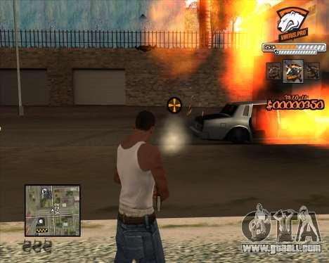 C-HUD Virtus Pro for GTA San Andreas third screenshot