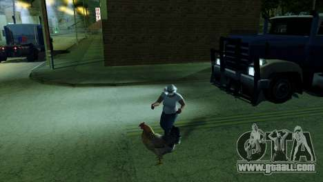 The possibility of GTA V to play for animals for GTA San Andreas