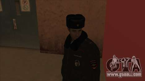 Police in Russia - winter form for GTA San Andreas fifth screenshot