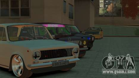 VAZ 2101 for GTA 4 side view