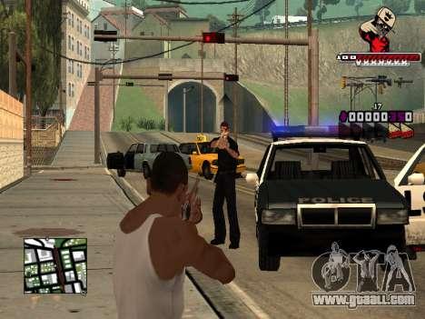 C-HUD SWAG for GTA San Andreas fifth screenshot