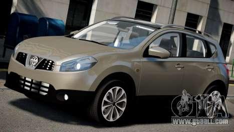 Nissan Qashqai 2011 for GTA 4