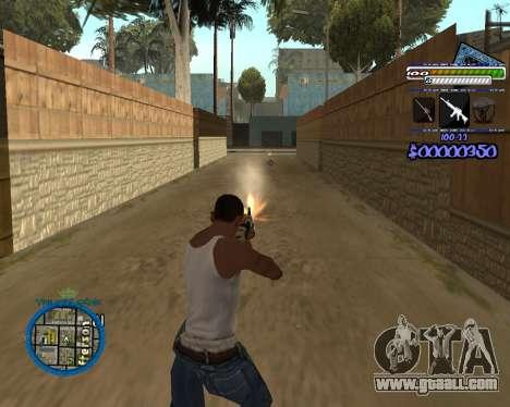 C-HUD by Rifa for GTA San Andreas forth screenshot