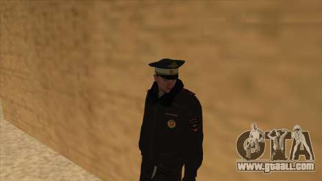Police in Russia - winter form for GTA San Andreas tenth screenshot