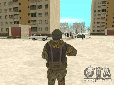 Spetsnaz MVD for GTA San Andreas second screenshot