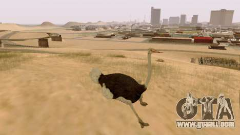 The possibility of GTA V to play for animals for GTA San Andreas second screenshot