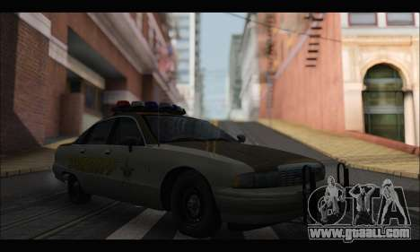 Chevrolet Caprice 1991-1993 RCSD for GTA San Andreas
