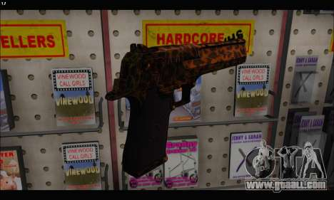 Leopardo Deagle for GTA San Andreas third screenshot