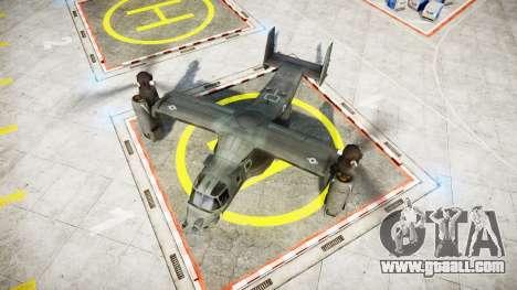 Bell CV-22 Osprey [EPM] for GTA 4 back left view