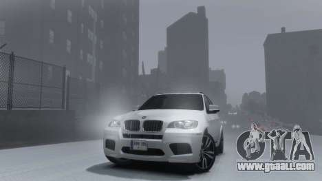 BMW X5M 2011 for GTA 4