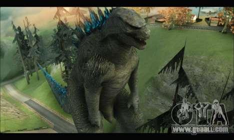Godzilla 2014 for GTA San Andreas