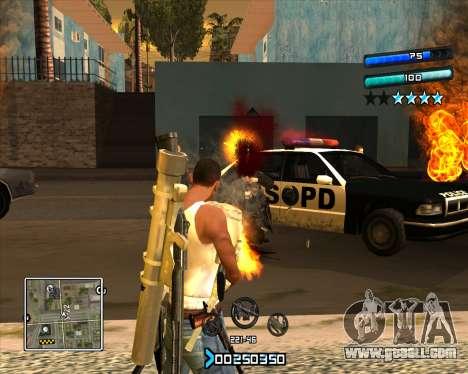 C-HUD Super Cull for GTA San Andreas second screenshot