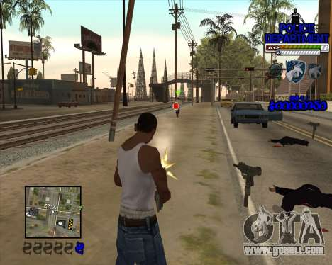 PD HUD for GTA San Andreas third screenshot