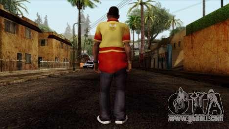 GTA 4 Skin 90 for GTA San Andreas second screenshot