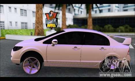 Honda Civic Korea Style for GTA San Andreas left view