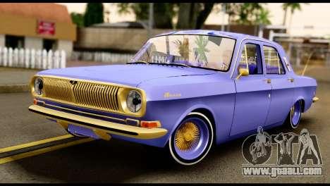 GAZ 24 Volga Lowrider La Riders for GTA San Andreas