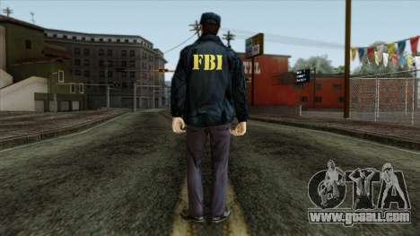 Police Skin 3 for GTA San Andreas second screenshot