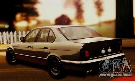BMW 525 E34 Rims for GTA San Andreas left view