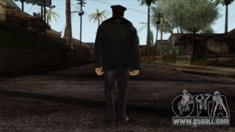 Police Skin 6 for GTA San Andreas second screenshot
