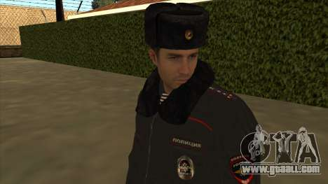 Police in Russia - winter form for GTA San Andreas seventh screenshot