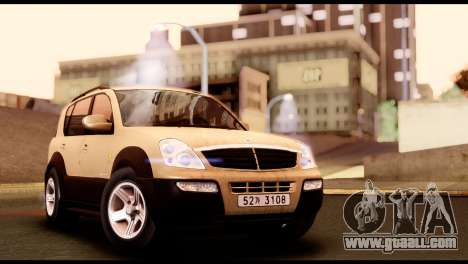 SsangYong Rexton 2005 for GTA San Andreas