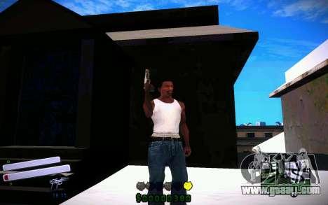 C-HUD v4.0 for GTA San Andreas third screenshot