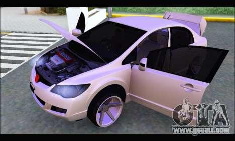 Honda Civic Korea Style for GTA San Andreas right view