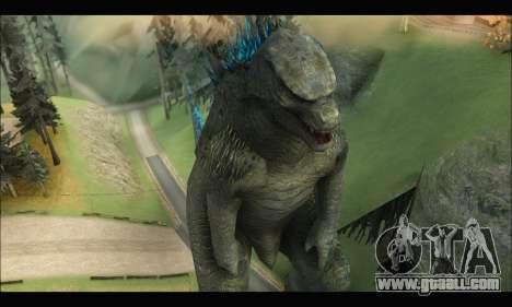 Godzilla 2014 for GTA San Andreas third screenshot