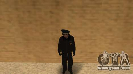 Police in Russia - winter form for GTA San Andreas eleventh screenshot