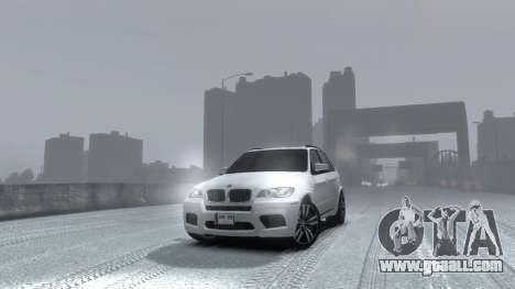 BMW X5M 2011 for GTA 4 right view