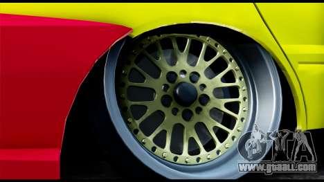 Mitsubishi Lancer Evo 9 for GTA San Andreas back left view
