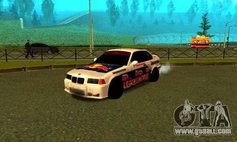BMW M3 E36 RedBull for GTA San Andreas left view