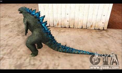 Babyzilla 2014 (Godzilla) for GTA San Andreas third screenshot