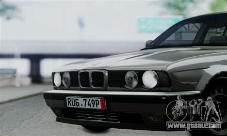 BMW 525 E34 Rims for GTA San Andreas right view