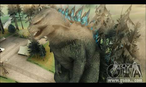 Godzilla 2014 for GTA San Andreas second screenshot