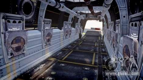 Bell CV-22 Osprey [EPM] for GTA 4 back view