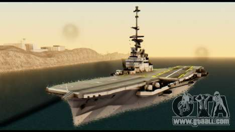 Colossus Aircraft Carrier for GTA San Andreas right view