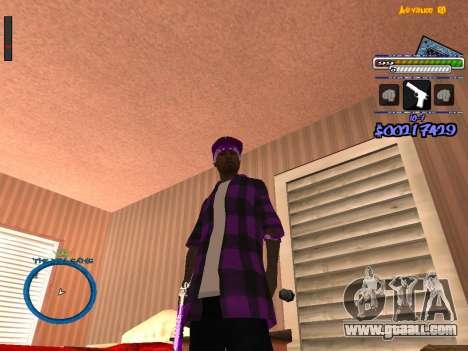 C-HUD by Rifa for GTA San Andreas second screenshot