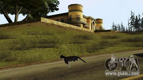 The possibility of GTA V to play for animals for GTA San Andreas forth screenshot