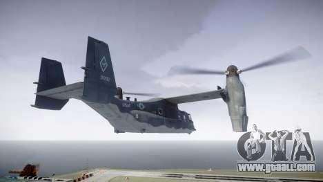 Bell CV-22 Osprey [EPM] for GTA 4 left view
