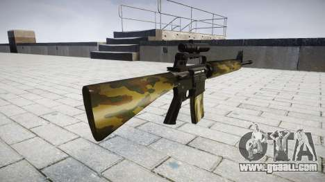 The M16A2 rifle [optical] flora for GTA 4 second screenshot