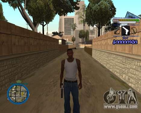 C-HUD by Rifa for GTA San Andreas third screenshot
