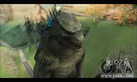 Godzilla 2014 for GTA San Andreas forth screenshot
