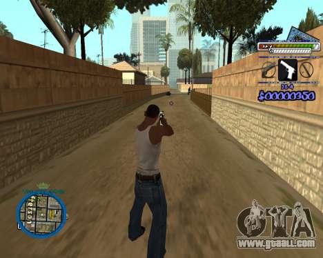 C-HUD by Rifa for GTA San Andreas