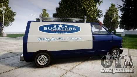 Declasse Burrito Bugstars for GTA 4 left view